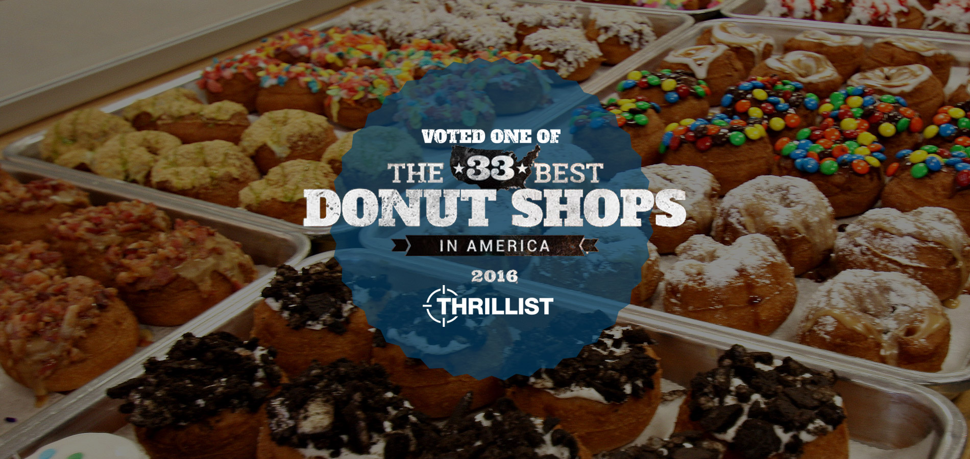 top 33 donuts 2016